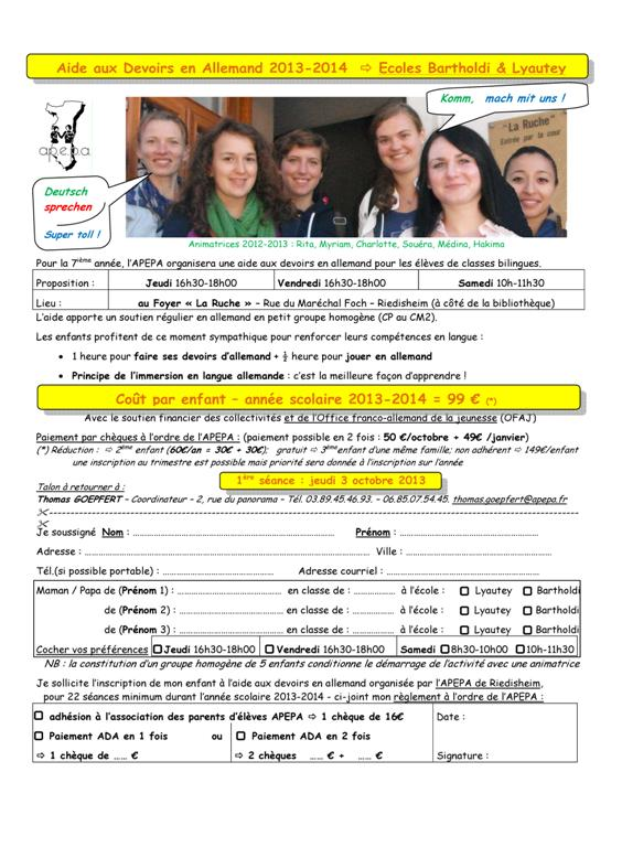 APEPA - RIEDISHEIM ADA 2013-2014 - Inscription - V1 Sept 2013 (Large)