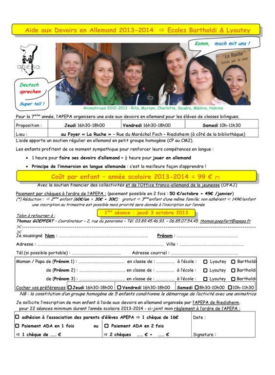 APEPA  - RIEDISHEIM ADA 2013-2014 - Inscription - V1 Sept 2013 (Large)