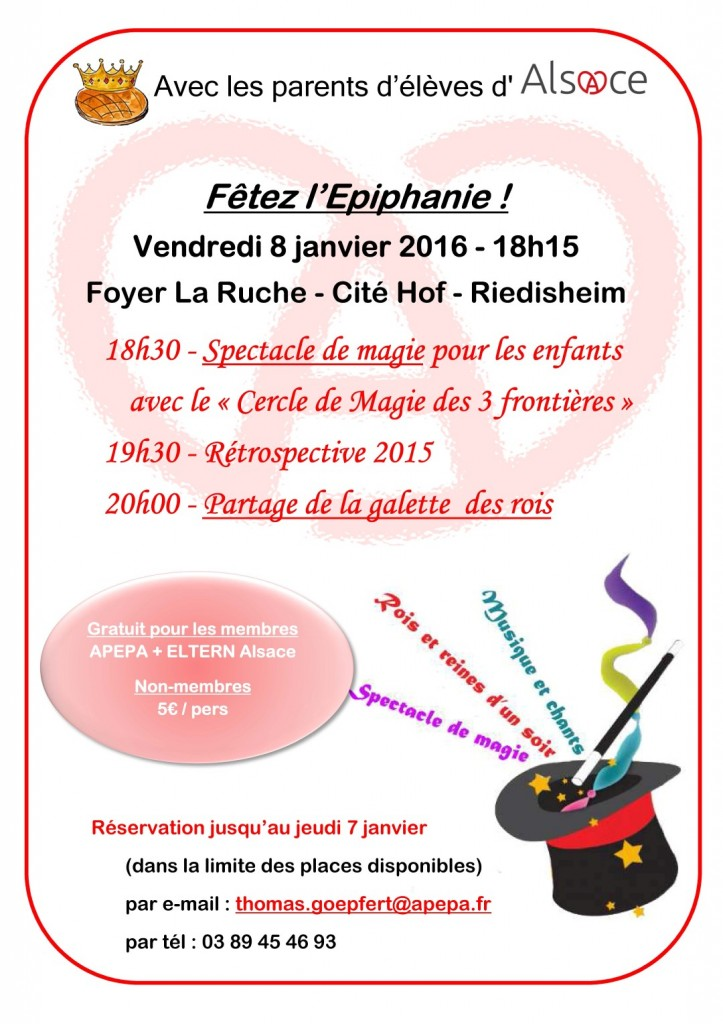Invitation - Fête de l'Epiphanie 2016 (Large)